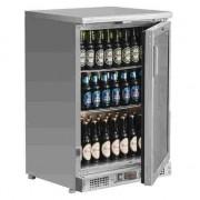 Botellero frigorífico acero inoxidable 104 botellas Polar CE205