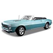 1967 Chevrolet SS Camaro 396 Convertible Turquoise 1:18