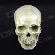 1: 1 Simulacion Skull Estilo Decorador - Blanco