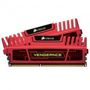 Memorie Corsair Vengeance Red 16GB (2x8GB) DDR3, 1866MHz, PC3-15000, CL10, XMP, Dual Channel Kit, CMZ16GX3M2A1866C10R