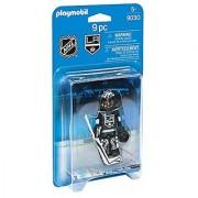 PLAYMOBIL NHL Los Angeles Kings Goalie Playset