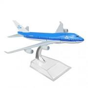 Holland Dutch Royal Boeing 747 16cm Metal Airplane Models Child Birthday Gift Plane Models Home Decoration