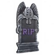 Halloween grafsteen RIP magere hein 40 cm