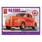 Amt Echelle 1 : 25 1940 Ford En Plastique Coupe Modèle Kit (Orange)-Amt