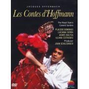 Placido Domingo,Luciana Serra,Agnes Baltsa,Ileana Cotrubas,Royal Opera Covent Garden,Georges Pretre - Offenbach: Les Contes d'Hoffmann (DVD)