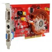 AGP 8X ATI Radeon 9550 256MB 128bit Video Card - Red