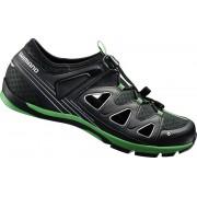 Shimano SH-CT46LG Schuhe Unisex schwarz 42 Bike Schuhe