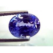 5.85 Ct IGI Certified Untreated Natural Ceylon Blue Sapphire AAA