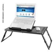 Mesa Portátil para Notebook Multilaser com Cooler e Mousepad Acoplado AC131