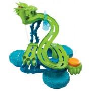 Mattel V0463 Hot Wheels - Circuito de coches Isla del dragón