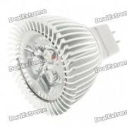 MR16 3W 260lm 6500K luz blanca fria 3-LED bombilla de la taza (12V)