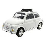 Bburago - 12035w - Fiat 500 L Découvrable - 1968 - Echelle 1/18