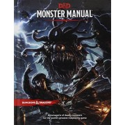 Wizards Of The Coast Monster Manual: A Dungeons & Dragons Core Rulebook