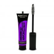 Glow in the dark make up paarse mascara