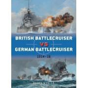 British Battlecruiser Vs German Battlecruiser by Mark Stille