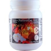 Aceite de Coco Organico 120 perlas de 1000mg