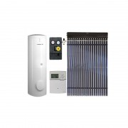 Pachet panouri solare cu tuburi vidate Viessmann Vitosol 200-T cu boiler bivalent Vitocell 100-W de 300 litri