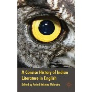 A Concise History of Indian Literature in English by Arvind Krishna Mehrotra
