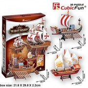 CubicFun 3D Puzzle Ship-Series The Era of Navigation