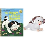 The Poky Little Puppy Book - Includes The Poky Little Puppy Plush - A Classic Kids Golden Books - Perfect Childrens Books Preschool Age