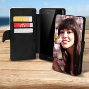Husa flip personalizata pentru Huawei P8 Lite