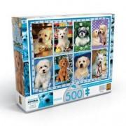 Grow Puzzle 500 peças Adoráveis Cãezinhos