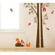 Walltola Trees Wall Decal (39X51 Inch)