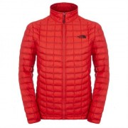 The North Face Mens Thermoball FZ Jacket Rage Red Lättviktsjacka Herr