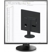 "Monitor IPS LED EIZO 26.5"" FlexScan EV2730Q, SQFHD (1920 x 1920), DVI-D, DisplayPort, 5 ms (Negru)"