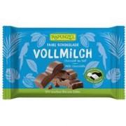 Ciocolata Bio cu Lapte Integral Rapunzel 100gr