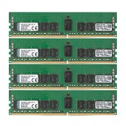 Kingston KVR21R15S4K4/32 Memoria RAM da 32 GB, 2133 MHz, DDR4, ECC Reg CL15 DIMM Kit (4x8 GB), 288-pin