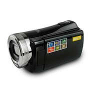 """rica dvh-600 hd 720p pixels 16.0 mega pixels 16x de zoom de 2,7 """"LCD tela hd camcorder câmera digital"""