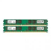 Kingston KVR13N9K2/16 Memoria RAM da 16 GB, 1333 MHz, DDR3, Non-ECC CL9 DIMM Kit (2x8 GB), 240-pin, 1.5 V