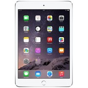 Apple iPad Mini 3 Tablet (7.9 inch, 128GB, Wi-Fi Only), Silver