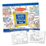 Jumbo Coloring Pad in Blue [Set of 3]