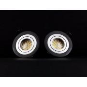 SEIDY: Fekete keret LED izzóval