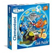 Clementoni 23022 - Clock Puzzle Nemo