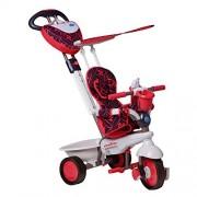 Smart Trike Dream 159-0500 - Triciclo con maniglia di guida, colore: Rosso/ Bianco