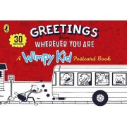 Greetings from Wherever You Are: A Wimpy Kid Postcard Book by Jeff Kinney