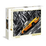 Clementoni 39274 - New York Taxi - Puzzle High Quality Collection 1000 pezzi