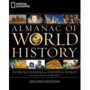 National Geographic Almanac of World History by Patricia S Daniels