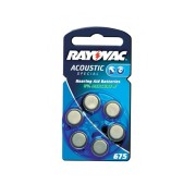Baterii auditive zinc-aer Rayovac Acoustic Special 675