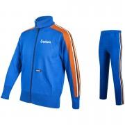 Santini Eroica 70s Wool Training Zip Fastening 2015 Heritage Series Track Suit - Blue - XL