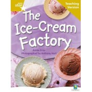 Rigby Star Non-Fiction Guided Reading Gold Level: The Ice-Cream Factory Teaching Version