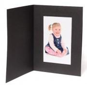 6x4 / 4x6 Rhapsody Black Photo Folder - Portrait