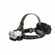 Lanterna de cap LED LENSER XEO 19R Reincarcabila Alba 2000lm raza luminoasa 300m