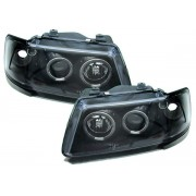 PHARES ANGEL EYES AUDI A3 NOIRS PHASE 1 (01264)