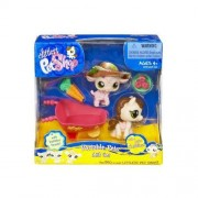 Littlest Pet Shop Exclusive Cuddliest Portable Gift Set Pink Sheep & Horse by Hasbro