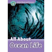 Oxford Read and Discover: Level 4: All About Ocean Life Audio CD Pack by Rachel Bladon