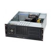 Supermicro CSE-842I-500B Portabagagli 500W Nero vane portacomputer